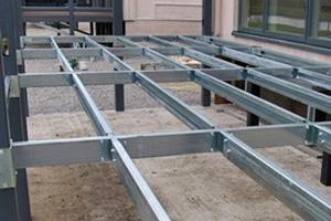 Galvanised Steel Deckframe System