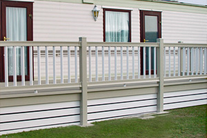 UPVC Ranch Skirting