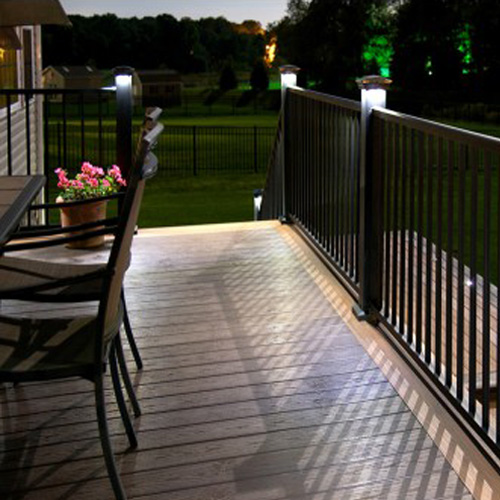 Solar Deck Lighting