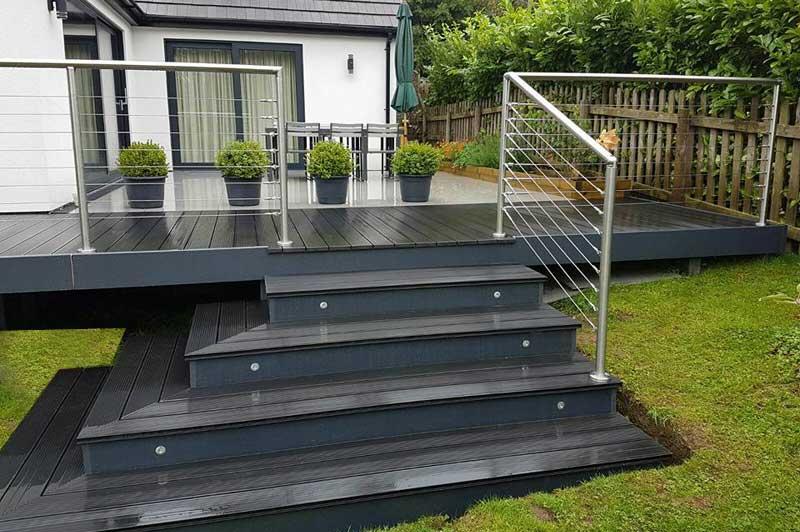 Stainless Steel Handrail Fittings & Flanges - Handrail Fittings Ltd