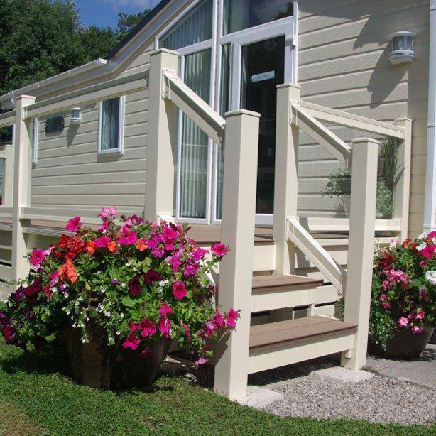 UPVC Caravan Step Systems